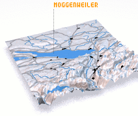 3d view of Möggenweiler