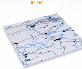 3d view of Weiche