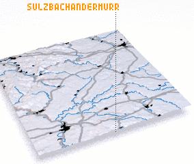 3d view of Sulzbach an der Murr