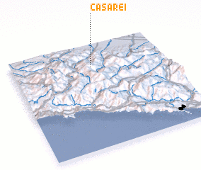 3d view of Casarei