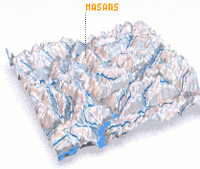 3d view of Masans