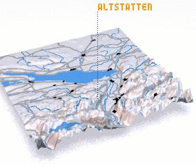 3d view of Altstätten
