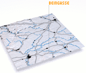 3d view of Beingasse