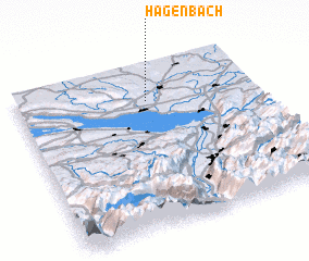 3d view of Hagenbach