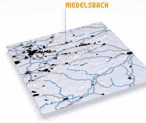 3d view of Miedelsbach