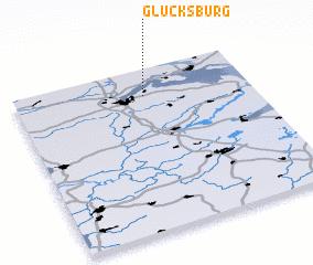 3d view of Glücksburg