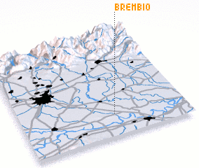 3d view of Brembio