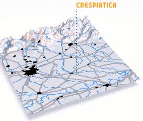3d view of Crespiatica