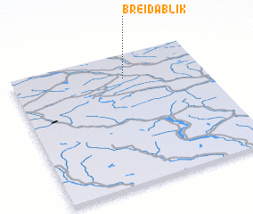 3d view of Breidablik