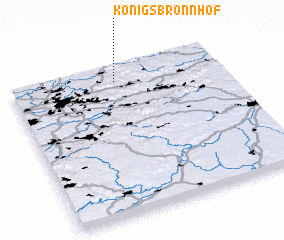 3d view of Königsbronnhof