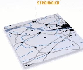 3d view of Strohdeich