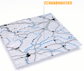3d view of Schwabhausen