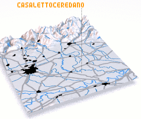 3d view of Casaletto Ceredano