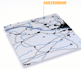 3d view of Kurzenmoor
