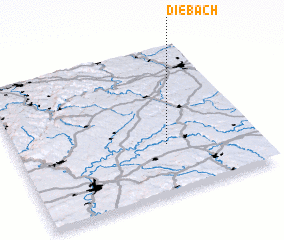 3d view of Diebach