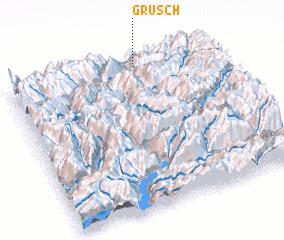 3d view of Grüsch