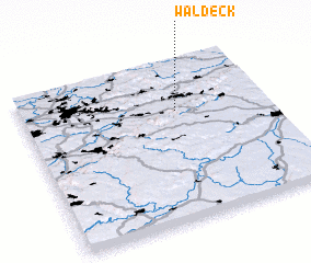 3d view of Waldeck