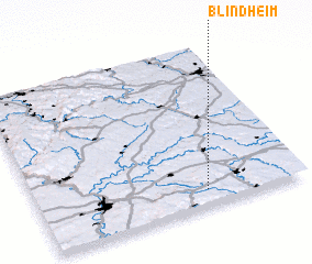 3d view of Blindheim