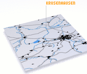 3d view of Krusenhausen