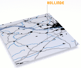 3d view of Hollinde
