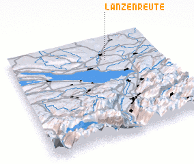 3d view of Lanzenreute