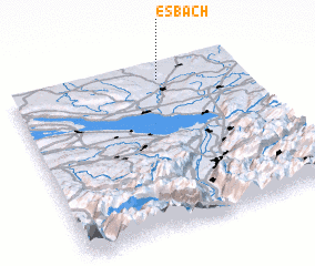 3d view of Esbach