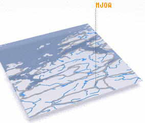 3d view of Mjøa