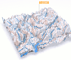 3d view of Arosa