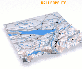 3d view of Wallenreute