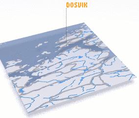 3d view of Døsvik