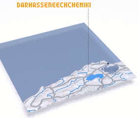 3d view of Dar Hassene ech Chemiki