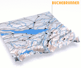 3d view of Buchebrunnen