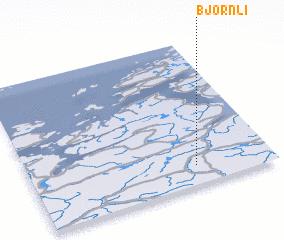 3d view of Bjørnli