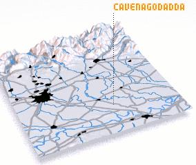 3d view of Cavenago d'Adda