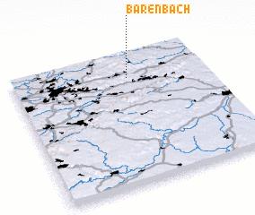 3d view of Bärenbach