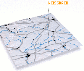 3d view of Weißbach