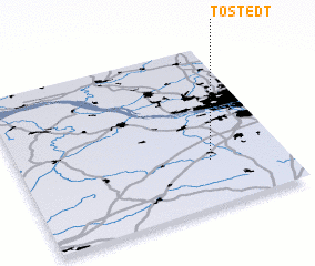 3d view of Tostedt