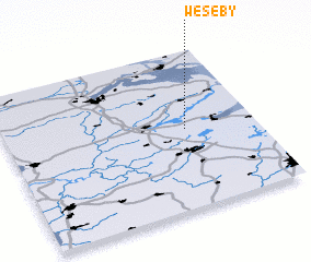 3d view of Weseby