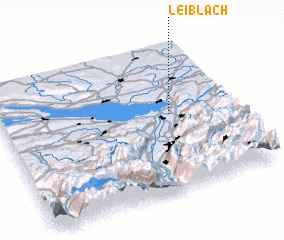 3d view of Leiblach
