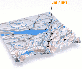 3d view of Wolfurt
