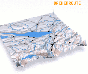 3d view of Backenreute
