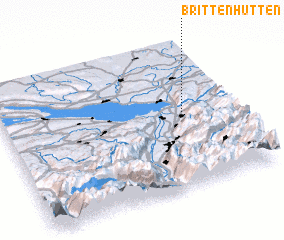 3d view of Brittenhütten