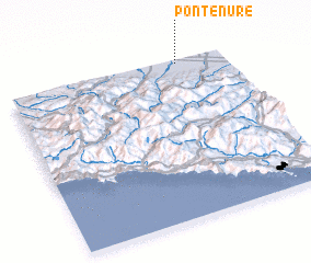3d view of Pontenure