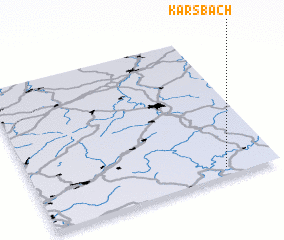 3d view of Karsbach