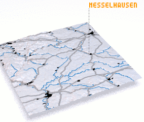 3d view of Messelhausen