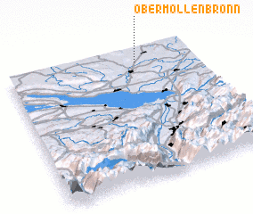 3d view of Obermöllenbronn