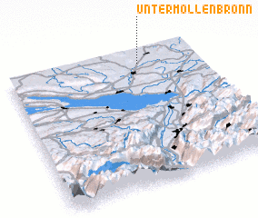 3d view of Untermöllenbronn