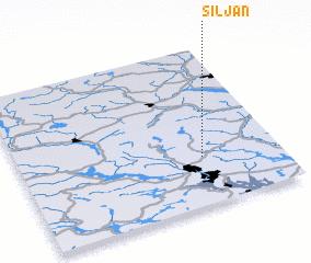 3d view of Siljan