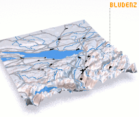 3d view of Bludenz