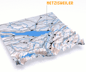 3d view of Metzisweiler